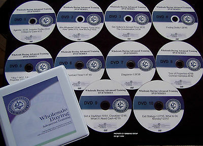Russ Whitney Wholesale Buying Advanced Series Complete Dvd Set With Cdrom Manual