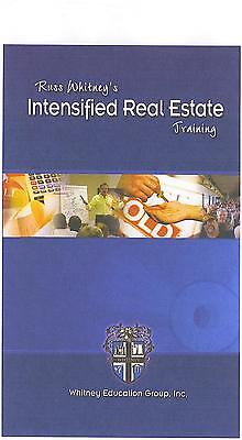 Russ Whitney's Intensified Real Estate Training Series Printable Manual On Cdrom