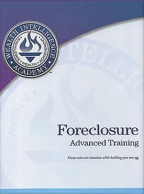 Russ Whitney's Foreclosure Advanced Series Training Printable Manual On Cdrom