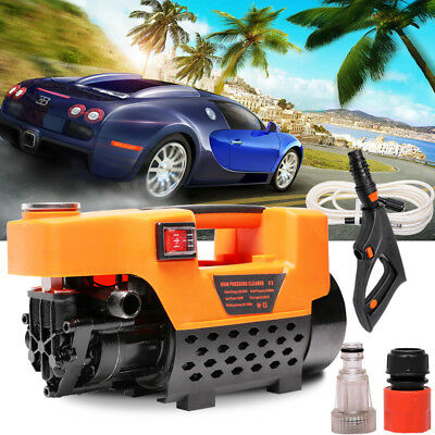 High Pressure Water Cleaner 1740PSI Washer Electric Pump Hose Gurney Home Garden