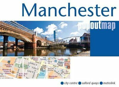 Manchester PopOut Map by Compass Maps (Sheet map, folded, 2013)