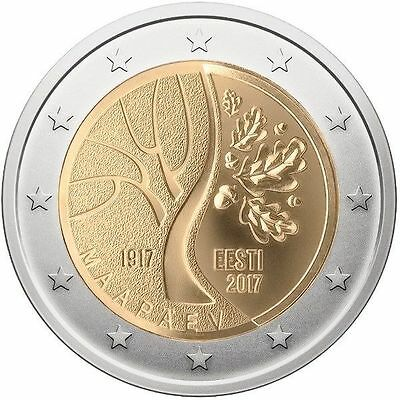 2 EUROS -ESTONIA 2017- CAMINO A LA INDEPENDENCIA - S/C - Ya disponible