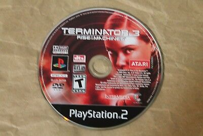 USED Terminator 3 Rise of the Machines Playstation 2 PS2 DISC ONLY!!