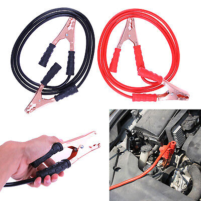 2.5m 2X 500Amp Jumper Cables Battery Emergency Breakdown Booster for Car Vehicle