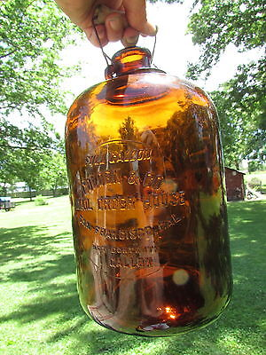 GOLDEN & CO San FRANCISCO WHISKEY Jug PRE-Pro 1917-19 w/GRAPHICAL Trade CATALOG