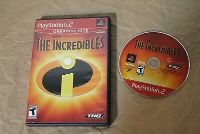 USED The Incredibles Playstation 2 PS2 Canadian Seller!!