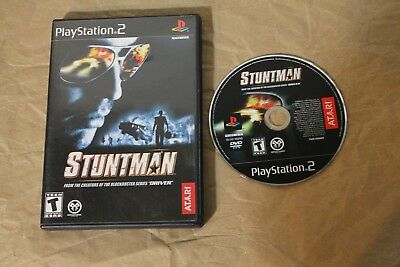 USED Stuntman Playstation 2 PS2 Canadian Seller!!