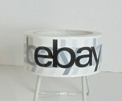 One Roll Official eBay Branded Logo Tape in Classic Original Design  New Sealed