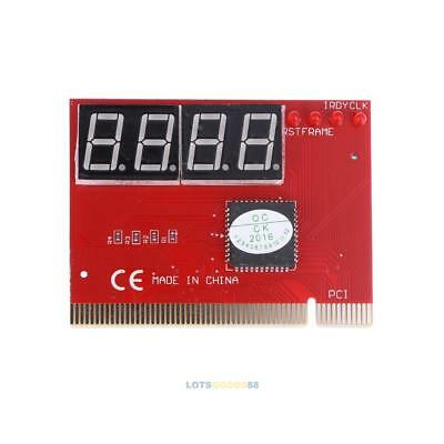 PC 4-digit Code Mainboard Motherboard Diagnostic Analyzer Tester PCI Card LS4G