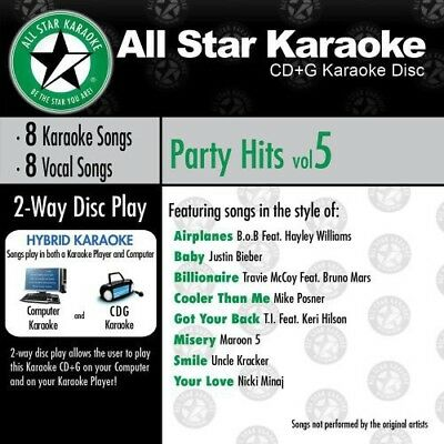 Various Artists - Karaoke: Party Hits, Vol. 5 [New CD]