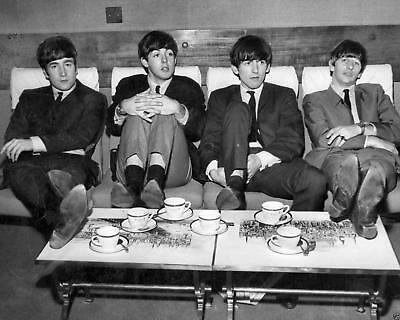 THE BEATLES Candid Photo