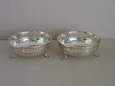 Pair of Bowls Mappin & Webb London Silver Plated