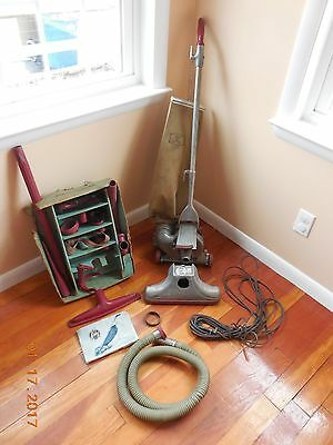 Vintage 1961 Kirby Vacuum Cleaner ~ Model 561 with attachments ~ It Works!
