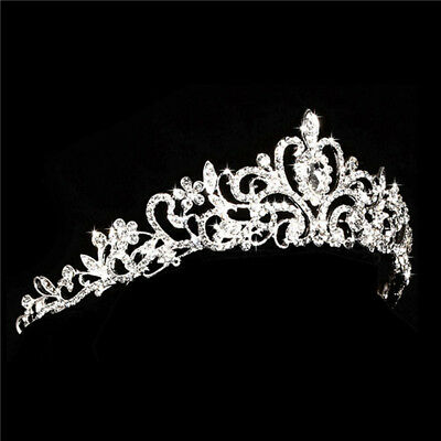 USA STORE Wedding Headband Hair Tiara Bridal Crown Princess Crystal Rhinestone