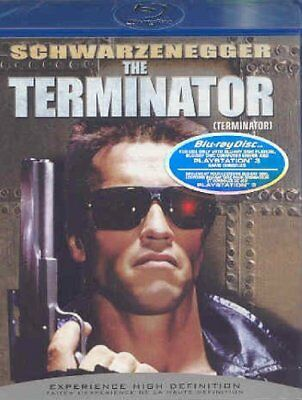 NEW BLU RAY - THE TERMINATOR - Arnold Schwarzenegger, Linda Hamilton, 5.1 AUDIO