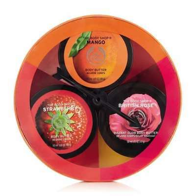 New Vegetarian The Body Shop Dial-A-Flavour Body Butter Trio
