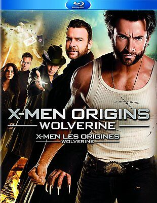 USED BLU RAY - X MEN ORIGINS - WOLVERINE - Hugh Jackman, Liev Schreiber, Ryan Re