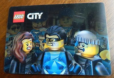 2014 2015 Lego City Night shift Movie Hologram Card CLEARANCE SALE!