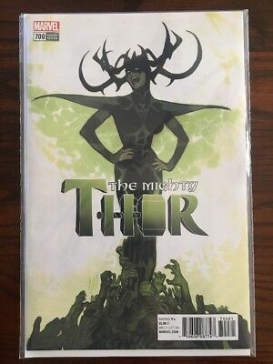 MIGHTY THOR #700 Adam Hughes 1:100 Variant Marvel Comics NM Presale 10/17/2017