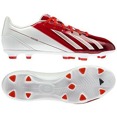 a6ddeeaac adidas F10 TRX FG Messi 2013 Soccer Shoes Red White New miCoach Compatible