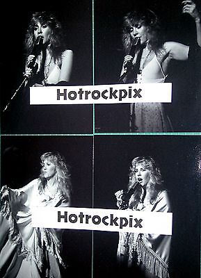 25 Different 4X6 Photos Of Of Stevie Nicks Of Fleetwood Mac In Concert
