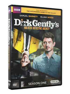 Dirk Gently's Holistic Detective Agency (DVD, 2017, 2-Disc Set) Brand New Sealed