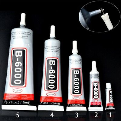 B-6000 Glue Industrial Adhesive for Phone Frame Bumper Jewelry 25ml 50ml 110ml#