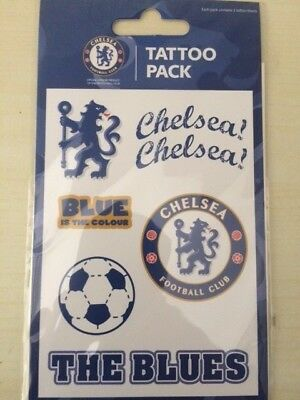 Chelsea  F.c. Official Tattoo Pack