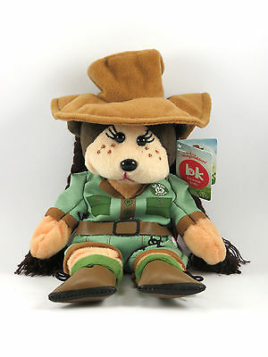 Beanie Kids- Zoe The Zookeeper Bear