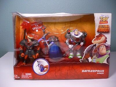 Toy Story That Time Forgot Battleopolis 3 Pack Exclusive NEW