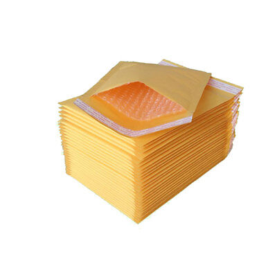 Gold Yellow Mail Bags Padded Bubble Envelopes Postal Wrap