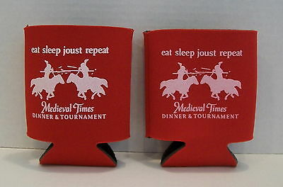 MEDIEVAL TIMES Jousting Knights Novelty Can Holder