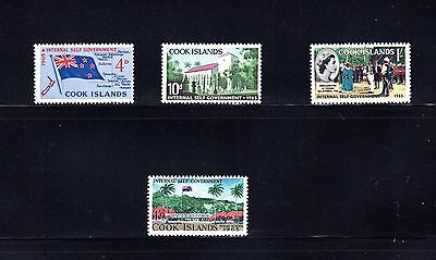Cook Islands 1965 Internal Self-Government SG 175/8 MLH