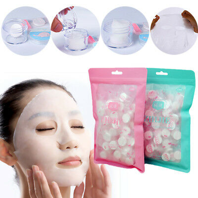 Beauty Compressed Cotton Facial Face Mask Sheet Paper Natural Skin Care