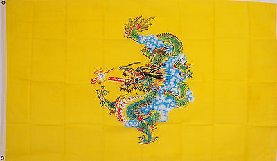 CHINESE DRAGON CHINA HOUSE FLAG NEW 3x5ft