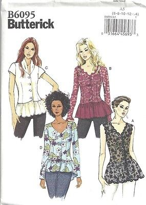 Butterick Pattern 6095 Top Sized to Fit My Size Barbie