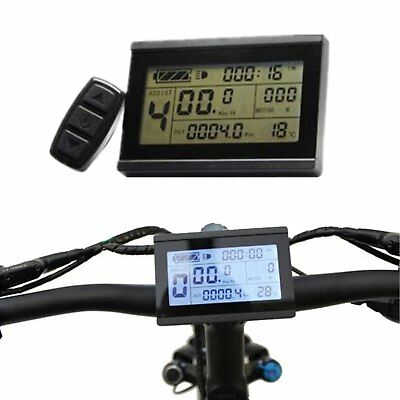 RisunMotor KT LCD3 Display Meter Remote Control 24/36/48/60/72V Electric Bicycle