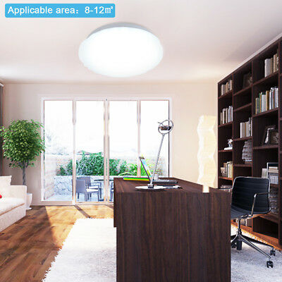 12w led deckenleuchte strahler deckenlampe wohnzimmer lampe badleuchte warmwei eur 12 59. Black Bedroom Furniture Sets. Home Design Ideas