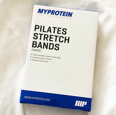 Myprotein Pilates Stretch-Bands Yoga Gym Workout Bands Resistance Bands