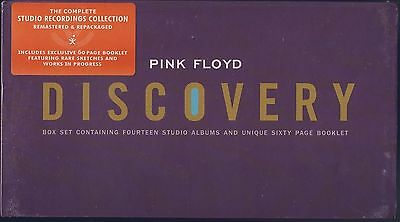 Pink FloydDiscovery (16 CD, Sep-2011, 16 Discs, EMI Catalogue) Sealed Box Set