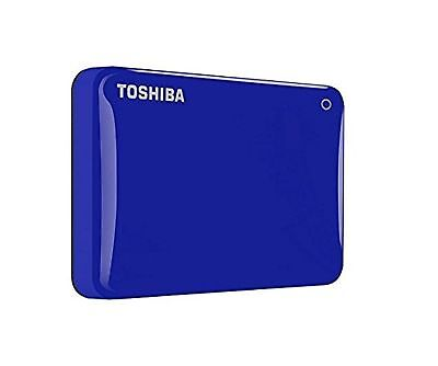 Toshiba Canvio Connect II 3TB Portable External Hard Drive 2.5 Inch USB 3.0... -