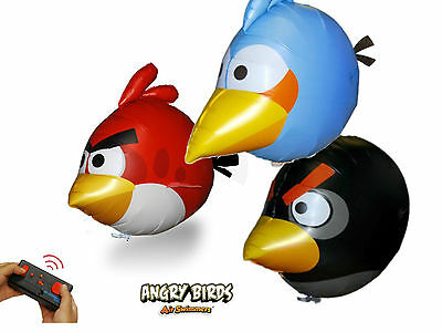 Air Swimmers Angry Birds  funkferngesteuert im 3er Set  - Play and Fun !