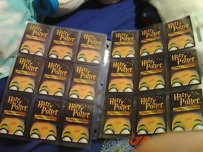18 MINT HARRY POTTER TRADING CARDS. PLENTY! (sleeves NOTincluded) LOOK! #2 OF 2