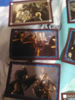 """(Lot2) 7 X Lord Of The Rings Stickers For Orig. Stickerbook! """"the Two Towers""""."""