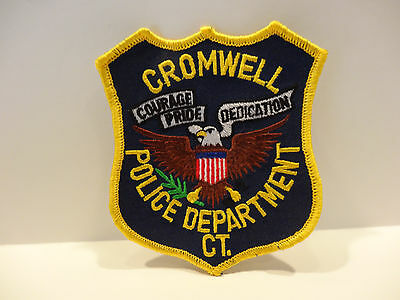 Cromwell Connecticut Police Patch.. ..