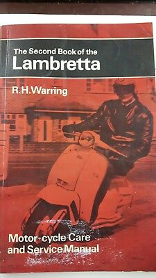 The Second Book of the Lambretta - All LI & TV Models from 1957. (Pitman's)