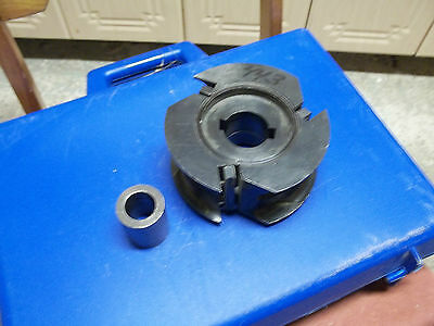 leuco shaper cutter  molder head   insert carbide  40mm  bore + sleeve