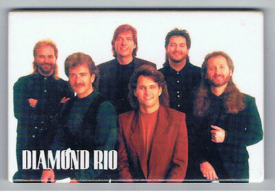 Diamond Rio Vintage 1990s Advertising Magnet Country Christian Music Band Top 40