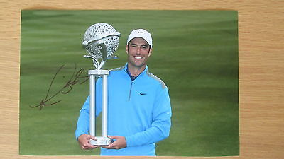 """hand signed 2014 Ryder Cup Golfer """" Ross Fisher """" 12"""" x 8"""" photo WITH COA"""