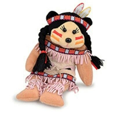 Beanie Kids- Abby The Native American Bear
